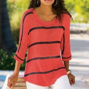 "Soft Surroundings""Venice"" Sweater"